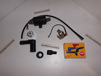 Puch Maxi N S X30 Moped E50 Motor Ignition Pass Set new A-Stock
