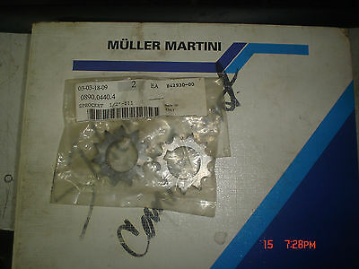 0890.0440.4  Muller Martini Sprockets for Stitcher Chain