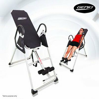 NEW Folding Genki Fitness Body Strength Home Workout Inversion Gravity Table