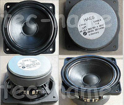 HIGH-END TIEFTÖNER TIEF-MITTELTÖNER 11 cm 4 Ohm 93 dB MADE IN GERMANY SEHR LAUT