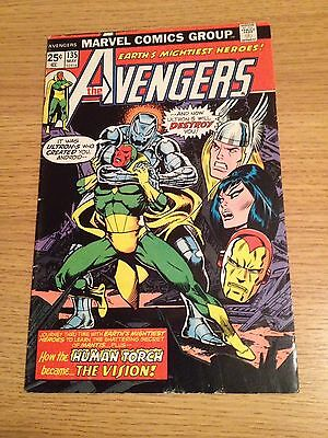 "Marvel Avengers #135 Ultron 5 ""how The Human Torch Became The Vision"""