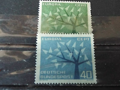 Série 2 timbres neuf Allemagne 1962 : EUROPA