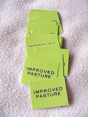 Vintage Squatter Board Game - 28 x Improved Pasture Cards Replacement Part