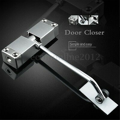 Adjustable Automatic Strength Spring Door Closer Hinge Fire Rated Door Channel