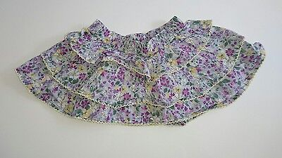 Baby girl Monsoon floral skirt age 3-6 months