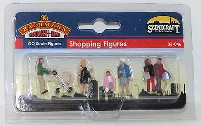 "Bachmann Branchline OO 36-046 Shopping Figures ""NEW"" FNQHobbys"