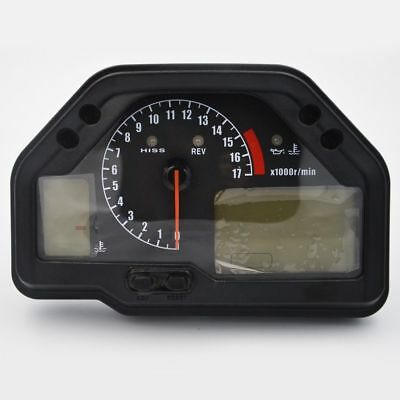 Speedometer Tachometer Gauges LCD Digital Odometer For Honda CBR600RR 2003-2006