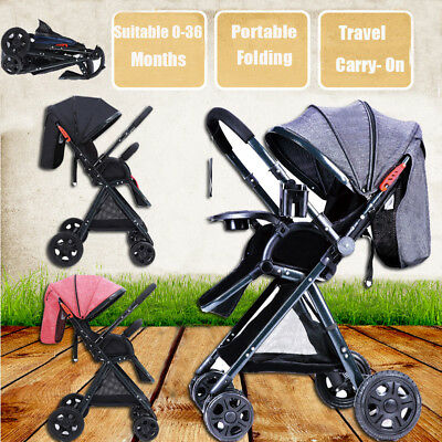 Light weight Umbrella Stroller Folding Travel Pushchair Baby Pram Infant Buggy