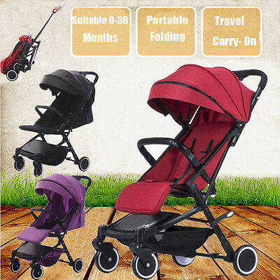 Compact Lightweight Baby Umbrella Stroller Pram Jogger Pushchair Travel Carry-on