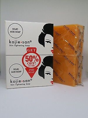 4 x Genuine Kojie San Kojic Acid Skin Lightening Soap