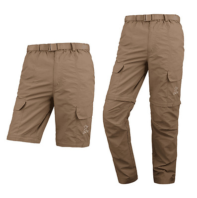 Removable Trousers Mesh Quick Dry Pants UVA Protection Breathable Pants