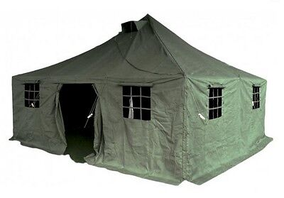 Army Army Tent Large Tent Group Tent Team Tent Military Tent Olive 4,8x4,8m