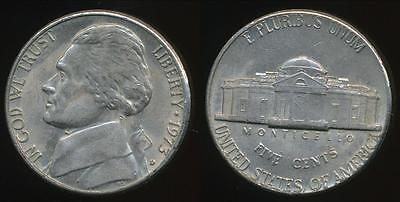 United States, 1973-D 5 Cents, Jefferson Nickel - Extra Fine