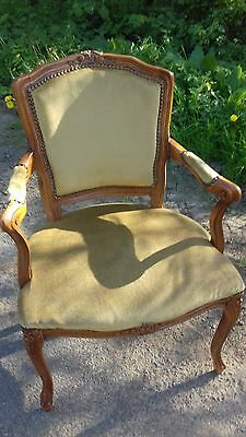 Vintage French Mid 20Th Fauteil /chair