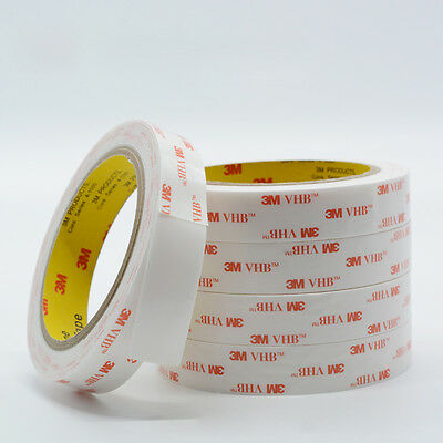 3M #4945VHB White Double Sided Super Sticky Foam Adhesive Tape - Office Auto