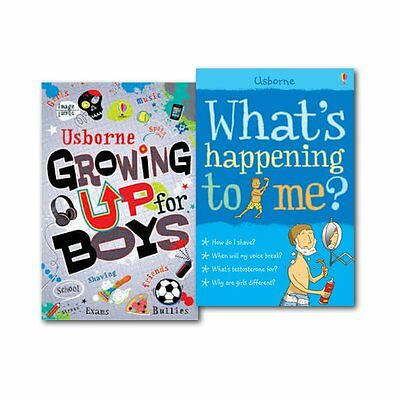 Whats Happening to Me, Growing Up for Boys Collection 2 Books Set Stress, Spots