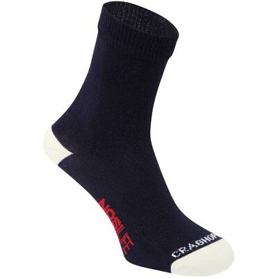 Craghoppers Womens Ladies Nosilife Two Pack Waking Hiking Socks Blue / Calico