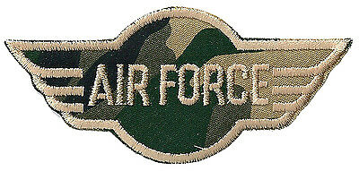 patch Ecusson thermocollant patche army sergent US Air Force militaire paintball