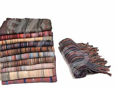 Turkish Pestemal Towel Fouta Hammam Sauna Beach Gym Pom Pom Stripy 2nd item