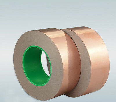 EMI Copper Foil Shielding Tape Double Conductive Self Adhesive Thickness 0.06mm