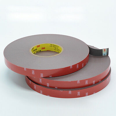New 3M Double Sided Foam Tape Sticker Adhesive High Temp Expert for Automotive