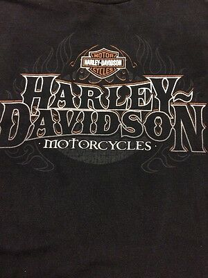 Mens Harley Davidson Indy West Plainfield Indiana Motorcycle T Shirt XL