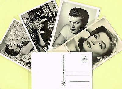 1950s Film Star Postcards issued in Germany (Universum) #1 to #3442 Movie/Cinema