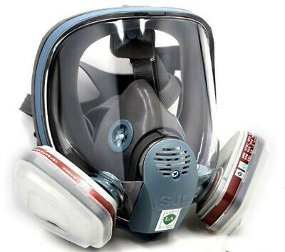 One Set For 3M 6800 Gas Mask Full Face Facepiece Respirator 7 Piece Suit