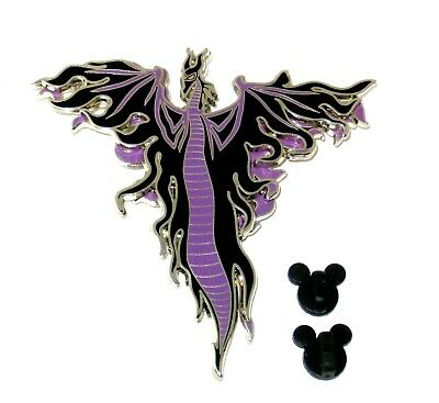 LE 750 Jumbo Disney Pin✿Art - Alex Maher Villainous Voyage Maleficent Dragon DCL