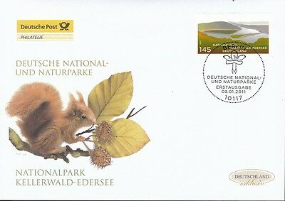 BRD 2011 Deutsche Post FDC MiNr. 2841  Nationalpark Kellerwald-Edersee