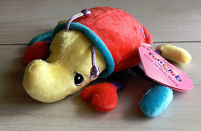 A5 Precious Moments Tender Tails Club Ronnie Beetle Plush! 6 Inch Stuffed Toy