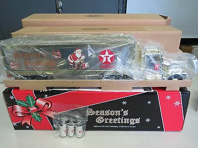 TEXACO 1999 HOLIDAY BOX TRAILER-Credit Card Issue-MINT IN BOX