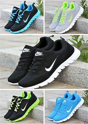 New 2017 Mens And Boys, Sports Trainers Running Gym Sizes Uk5.5-11.5