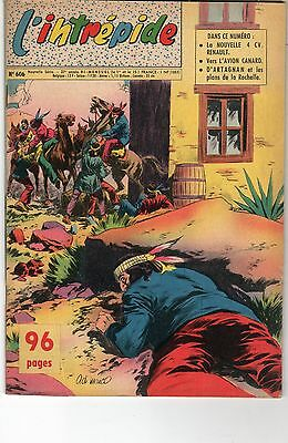 magazine l'intrépide 27° année N°606 le 15-09-1961-photo de rik van louy -