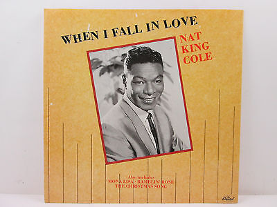 Nat King Cole – When I Fall In Love - Capitol Records – 12CL 15975 - UK 1987