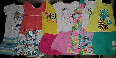 NWT Size 3T Lot of Summer CLOTHES and OUTFITS Gymboree dress cat