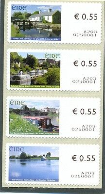 Ireland 2008 Inland Waterways stamps on a roll self adhesive mnh