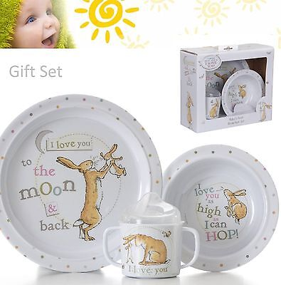 Guess How Much I Love You Little  Nutbrown Hare Breakfast Set
