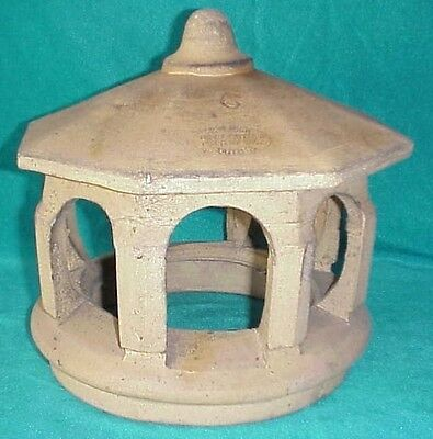 Antique Steiger Terra Cotta Pottery #6 Architectural Salvage Roof Chimney Top
