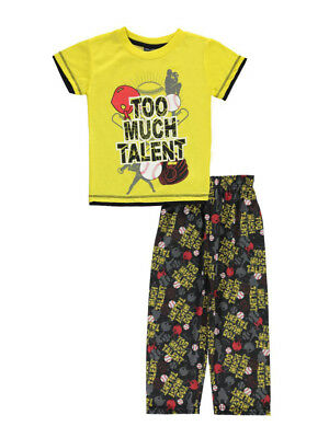 "Mac Henry Little Boys' ""Too Much Talent"" 2-Piece Pajamas (Sizes 4 - 7)"
