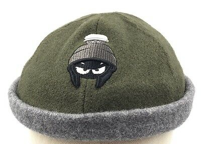 Marvin The Martian Beanie Hat Green Gray WB Studio Store 1997