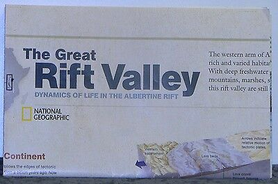 2011 National Geographic Map of the Great Rift Valley
