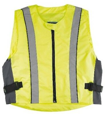 Germas High visibility vest Size 8XL Motorcycle Safety Fluorescent flap free