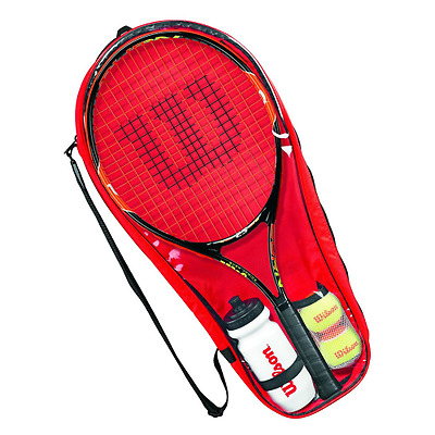Wilson Racket Sport Burn Starter Raquette de tennis Noir/Orange 25