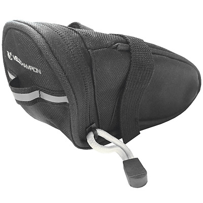 VeloChampion Sacoche de selle Speed - Noir - Bike Seat Pack - Black