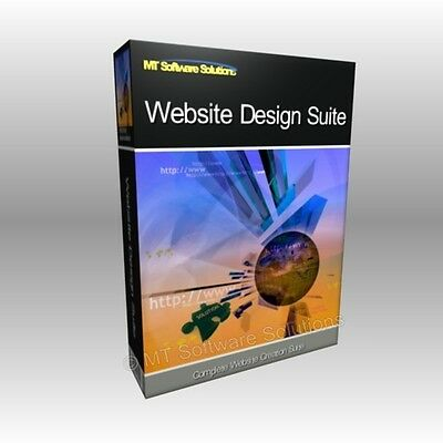 Website Design HTML CSS Creator Create Webpage Software Computer Program
