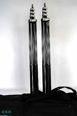 Profoto by Manfrotto Light Stands Set of Two 10.5' 4-Section Black,