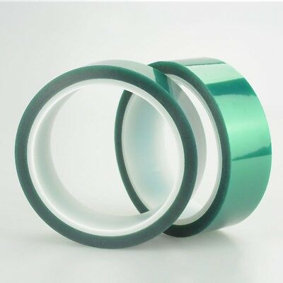 33m- Green PET Tape Heat Resistant for Welding, Circuit Board, Painting, Plating