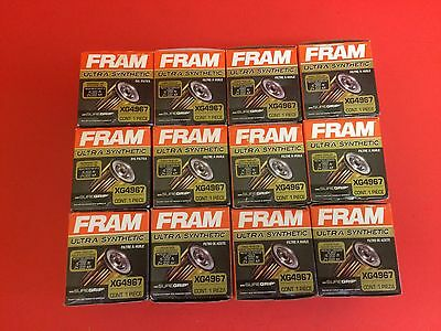 Lot of 12 Engine FRAM Ultra-Synthetic Oil Filter XG4967 for Toyota,Lexus,suzuki