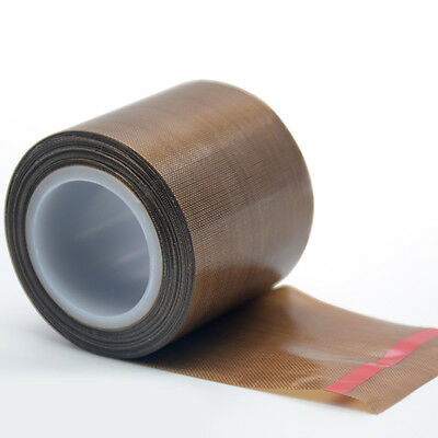 10m PTFE Teflon Tape Self Adhesive Heat Seal Vacuum Pack Packer ROLL Glass Woven